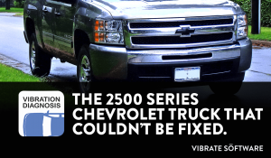 The 2500 Series Chevrolet Truck That Could Not Be Repaired
