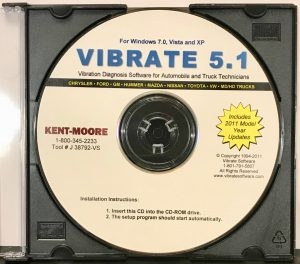 Vibrate 5.1 2011 CD