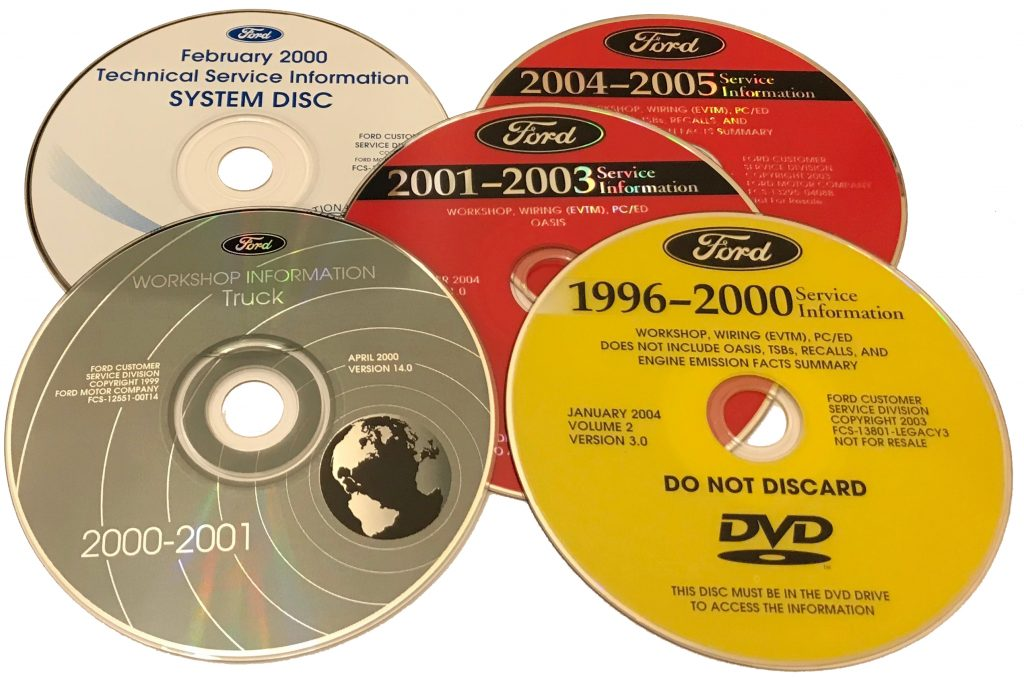 Ford SI 1996-2005 DVDs