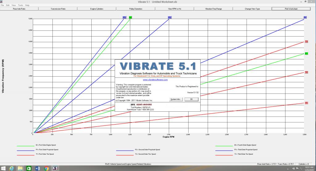Vibrate 5.1 2011 in Windows 8.1